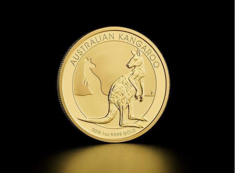 1 oz Australisk Guld Kangaroo
