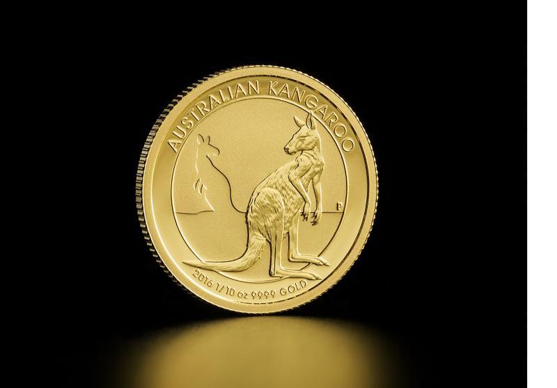 1/10 oz Australisk Guld Kangaroo