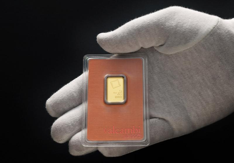 5 gram Gold Bars Valcambi Suisse
