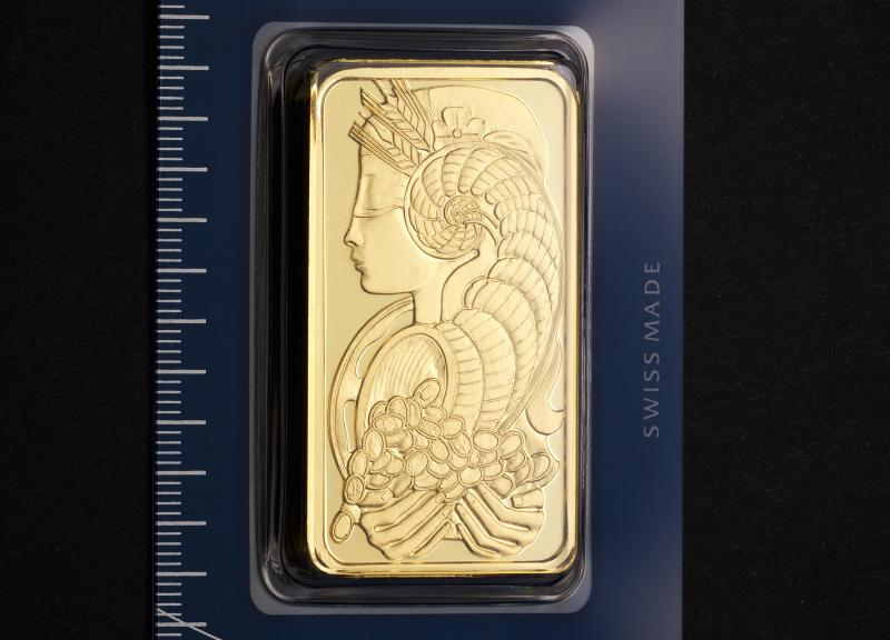 100 gram Gold Bars PAMP Fortuna