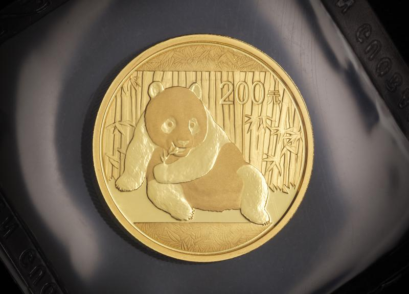 2015 1/2 oz Kinesisk Guld Panda