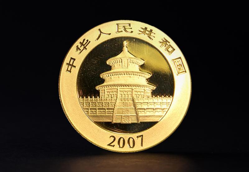 2007 1 oz Kinesisk Guld Panda