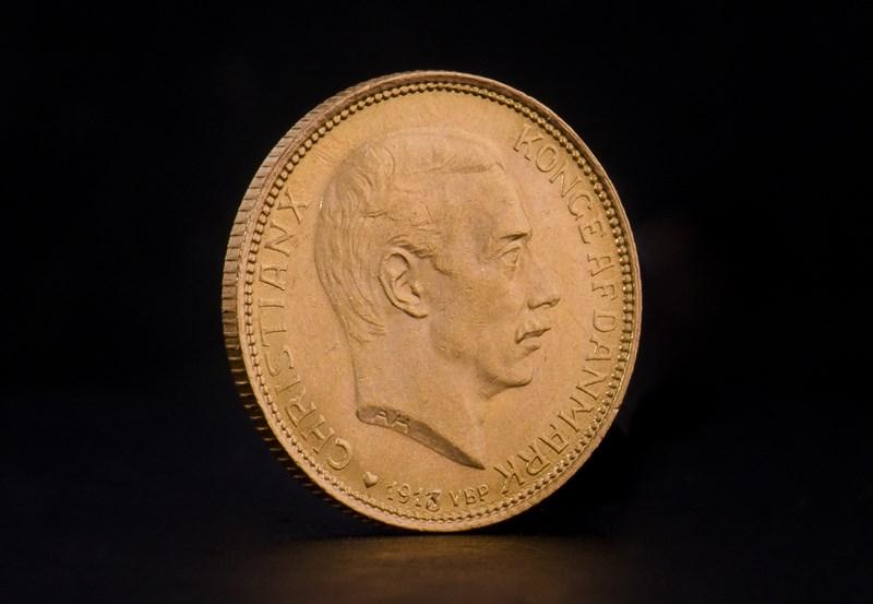 Danske 20 kroner – Christian IX, Frederik VII & Christian X