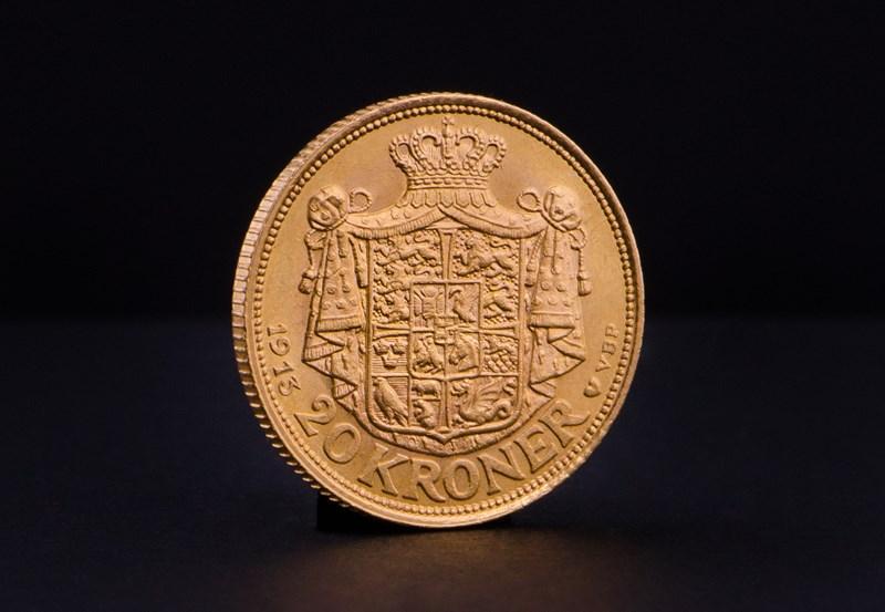 Dansk 20 Kroner Christian X