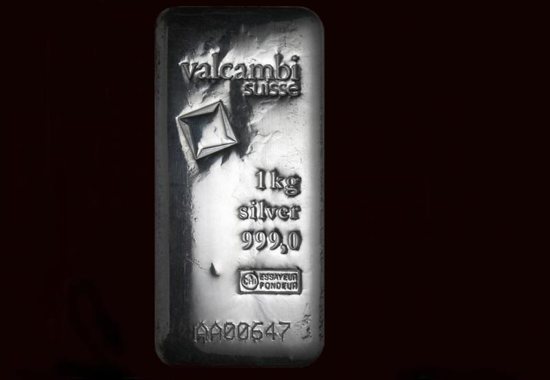 1000 gram Silver Bars Valcambi