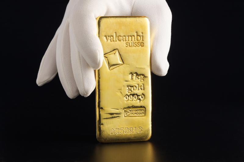 1000 gram Guldtacka Valcambi Suisse