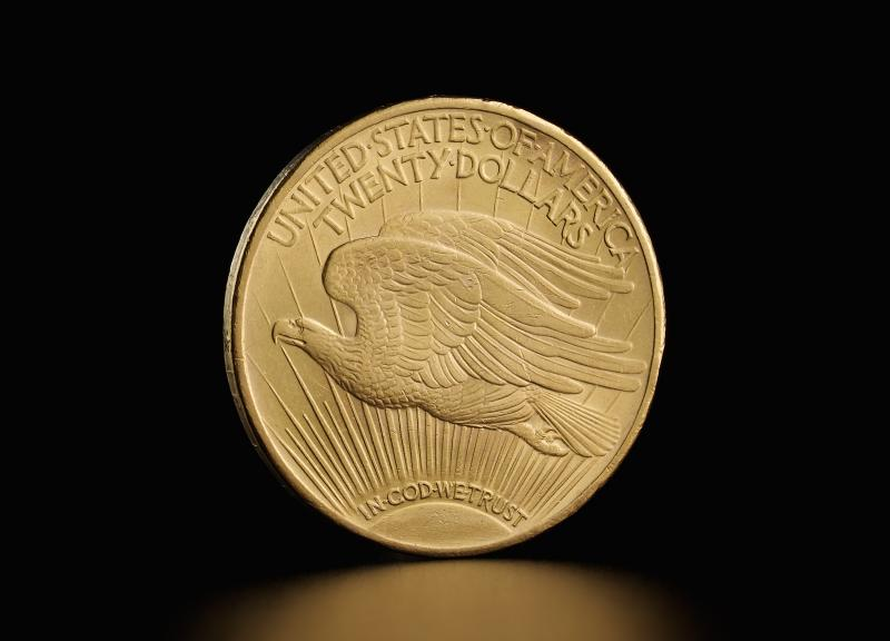 Amerikansk $20 Saint Gaudens Double Eagle