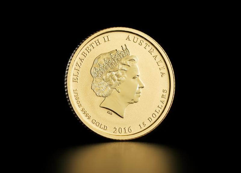 2016 1/10 oz Australisk Guld Lunar – Apans År