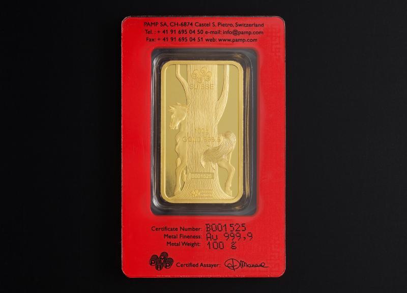 100 gram Guldtacka PAMP Lunar Hästen