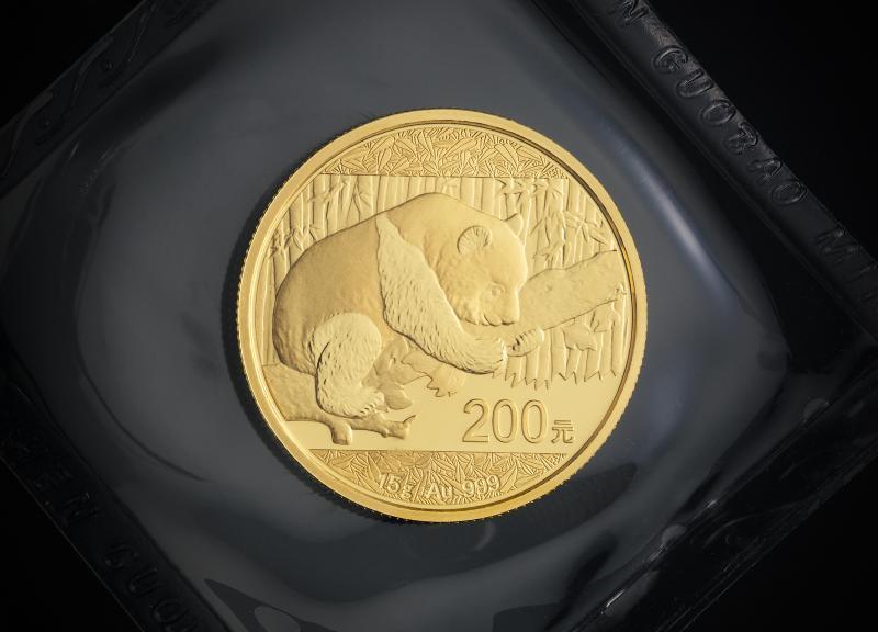 2016 15 g Kinesisk Guld Panda