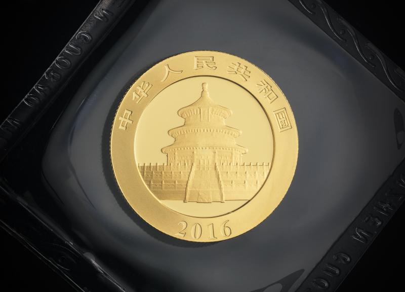 2016 15 g Chinese Gold Pandas