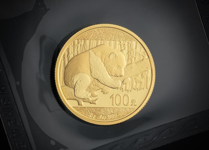 2016 8 g Chinese Gold Pandas
