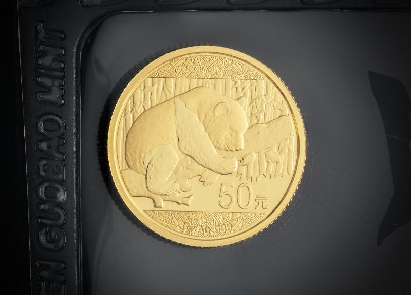 2016 3 g Kinesisk Guld Panda