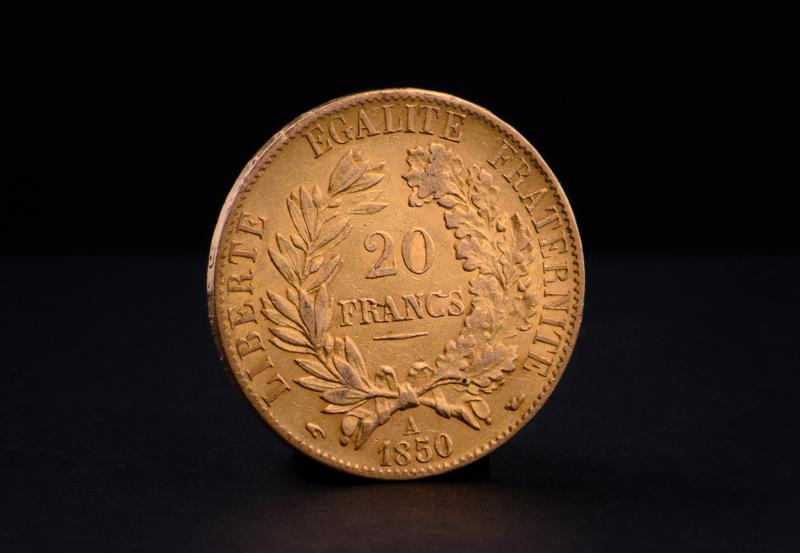 French 20 Francs Ceres