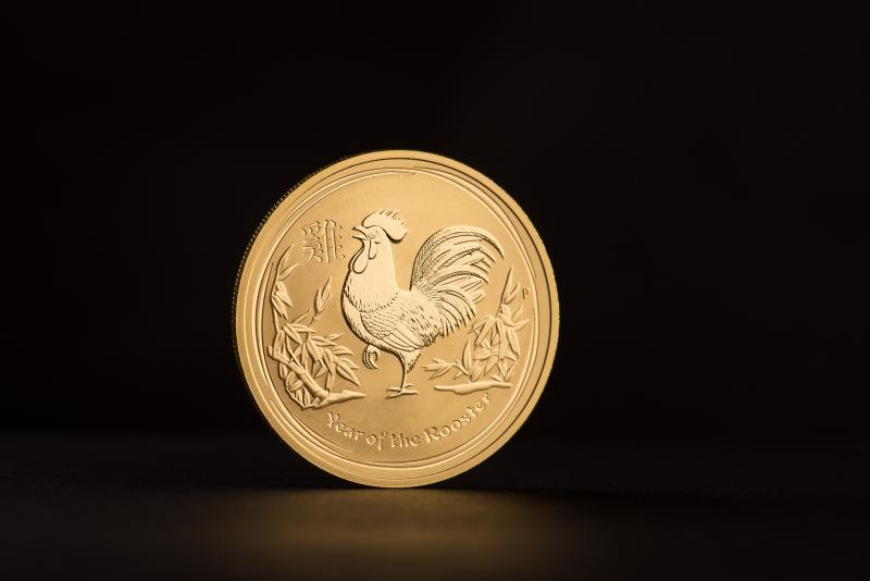 2017 1 oz Australian Gold Lunar Year of the Rooster