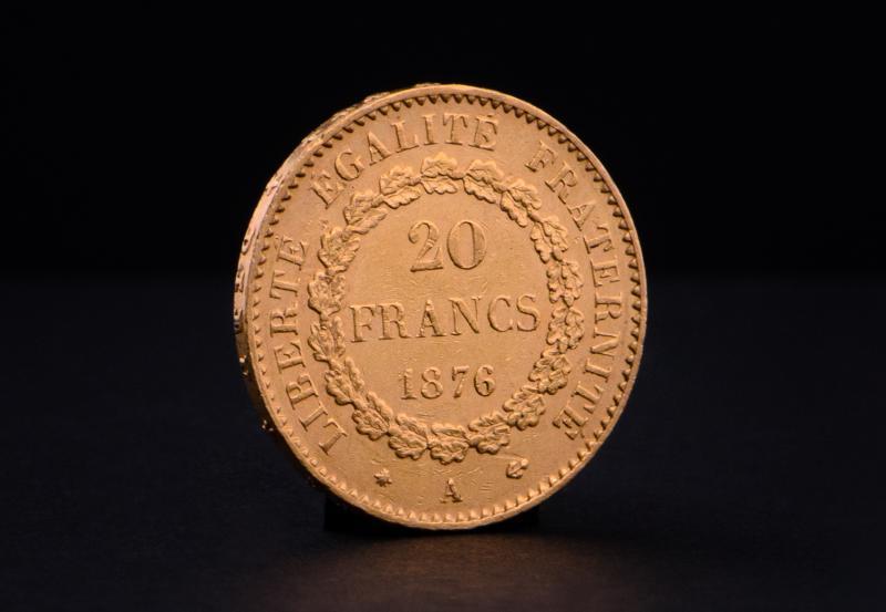Fransk 20 Franc Ängel