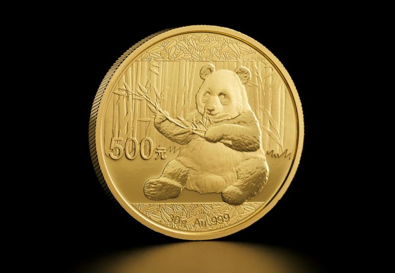 2017 30 g Kinesisk Guld Panda
