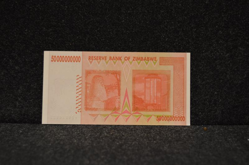 Zimbabwe 50-Billion Dollar