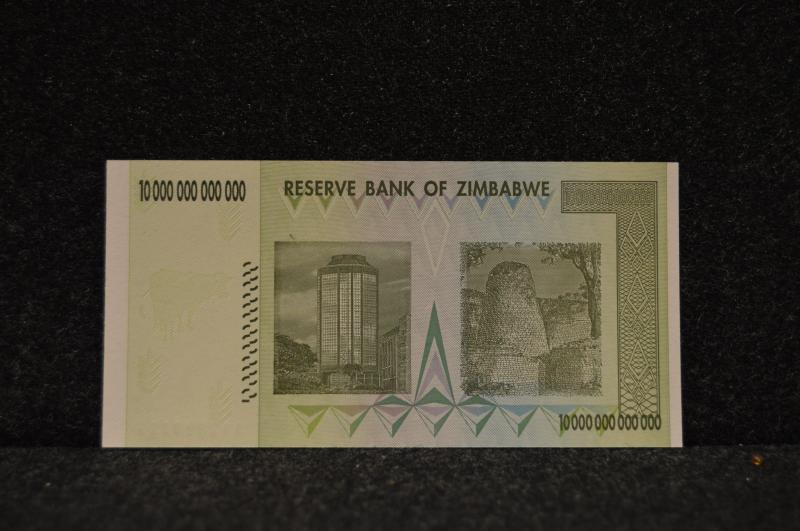Zimbabwe 10-Trillion Dollar