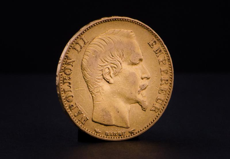 French 20 Francs Napoleon III