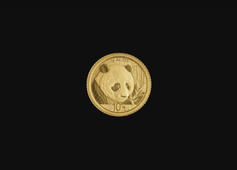 2018 1 g Kinesisk Guld Panda