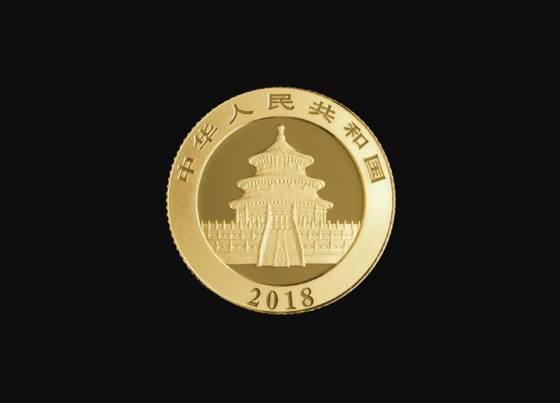 2018 3 g Kinesisk Guld Panda