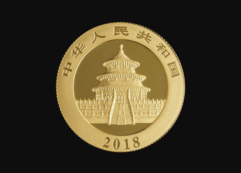 2018 8 g Chinese Gold Pandas