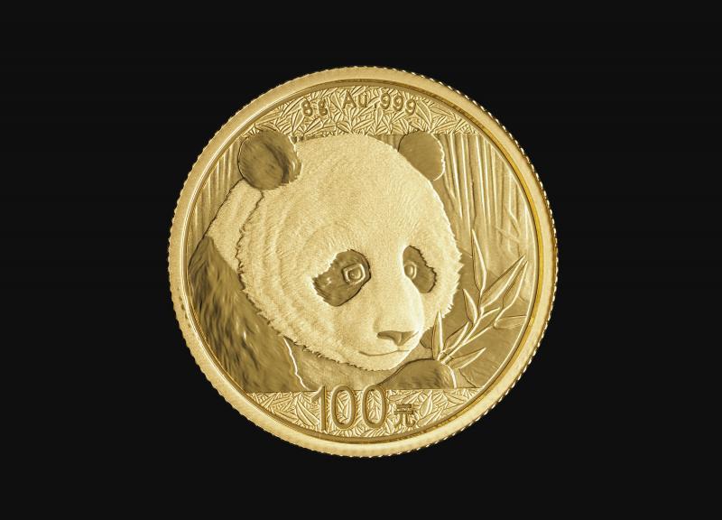 2018 8 g Kinesisk Guld Panda