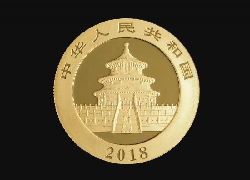 2018 15 g Chinese Gold Pandas