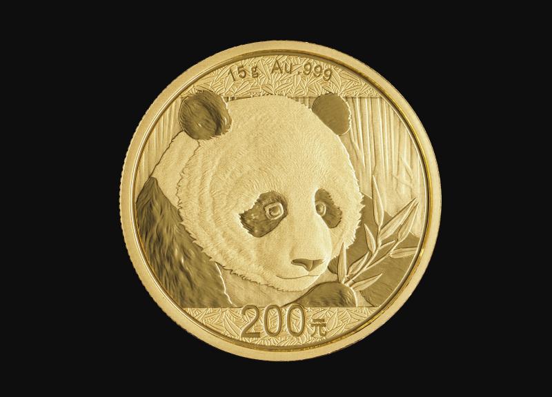 2018 15 g Kinesisk Guld Panda