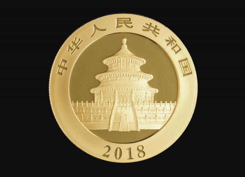 2018 30 g Kinesisk Guld Panda