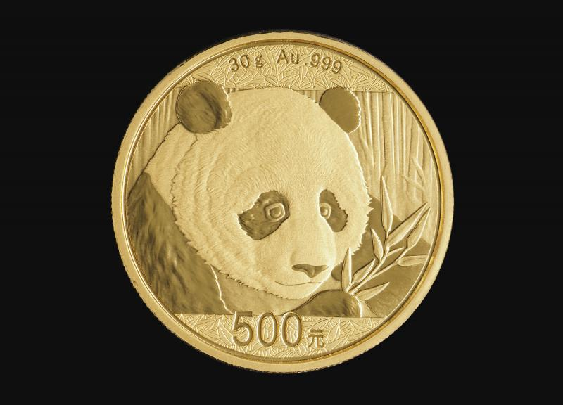 2018 30 g Chinese Gold Pandas