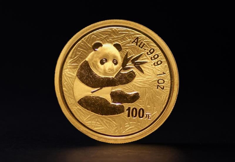 2000 1 oz Kinesiske Panda