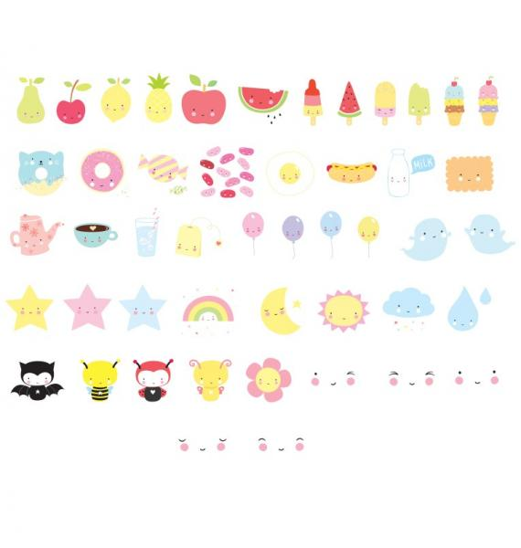 ALLC Letter Pack-Kawaii