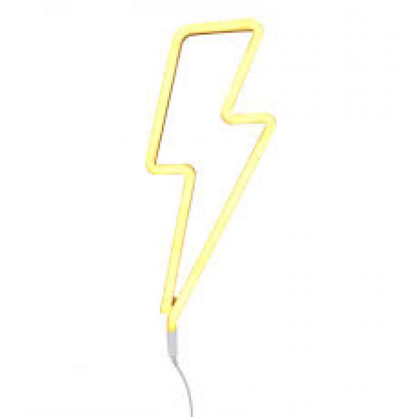 ALLC Neon Lights-Lightning Bolt-Yellow