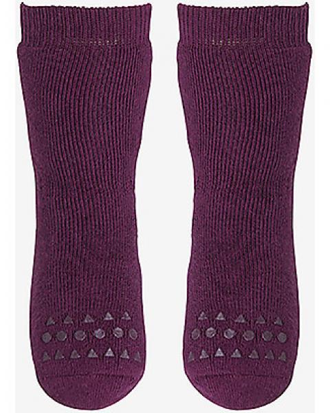 GoBabyGo Antislip Socks-Plum