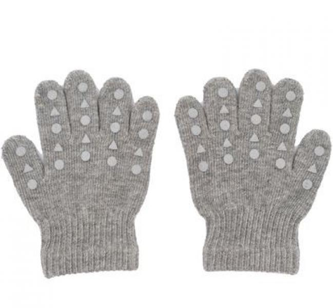 GoBabyGo Grip Gloves-Grey