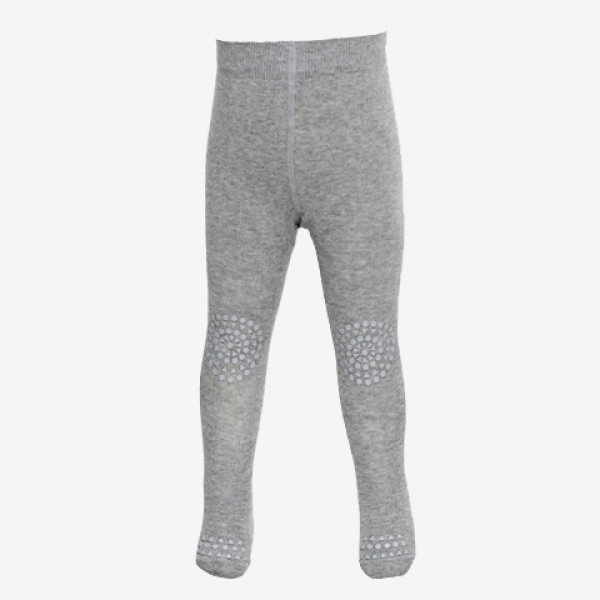 GoBabyGo Wool Crawling Tights grey