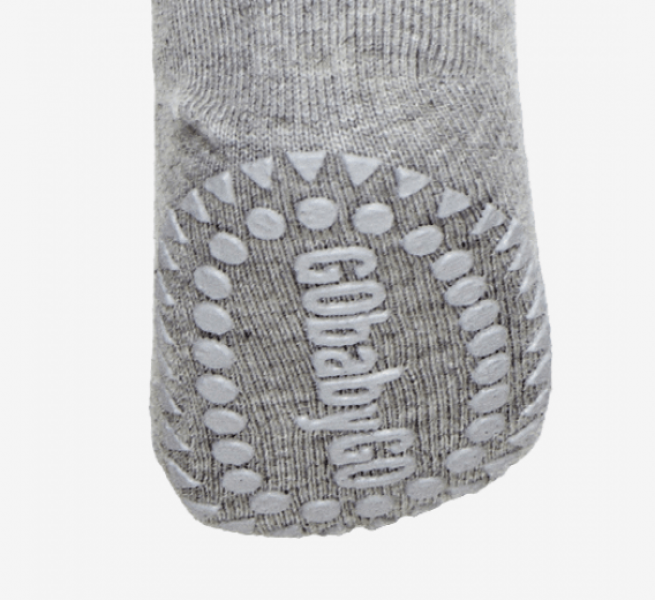 GoBabyGo Wool Crawling Tights-grey