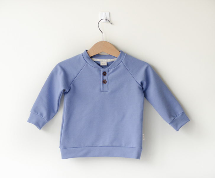 Sleepy Fox Sinine Pullover Organic Cotton
