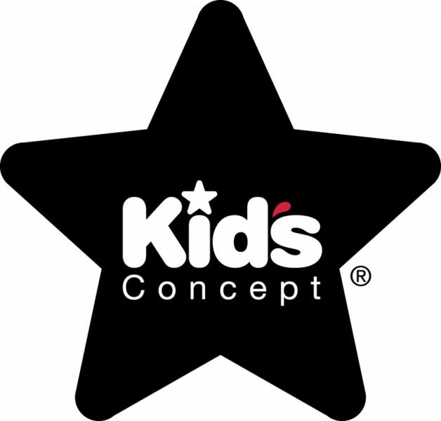 Kids Concept Neo 3 Round Storage Box Black/White 310563