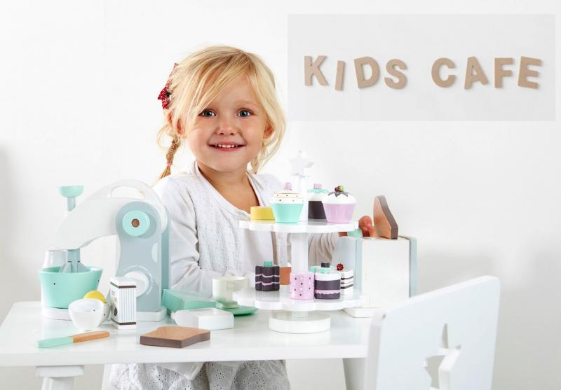 Kids Concept Ice-cream rack and ice creams 412270