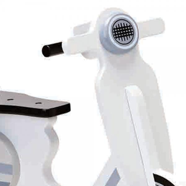 Kids Concept Rocking Moped - Grey