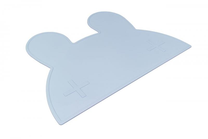We Might Be Tiny Placemat Bunny-Light Blue
