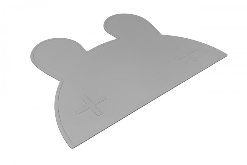 We Might Be Tiny Placemat Bunny-Grey