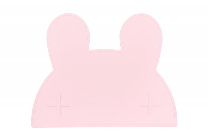 We Might Be Tiny Placemat Bunny-Powder Pink
