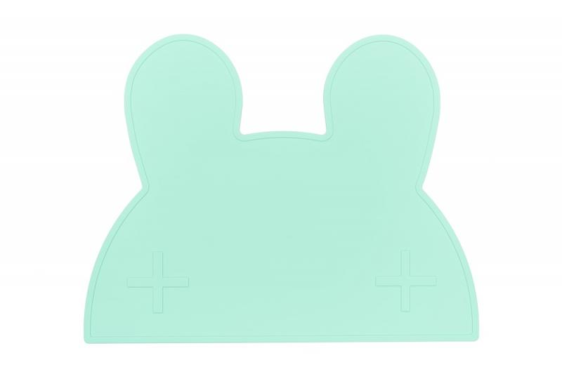 We Might Be Tiny Placemat Bunny-Mint