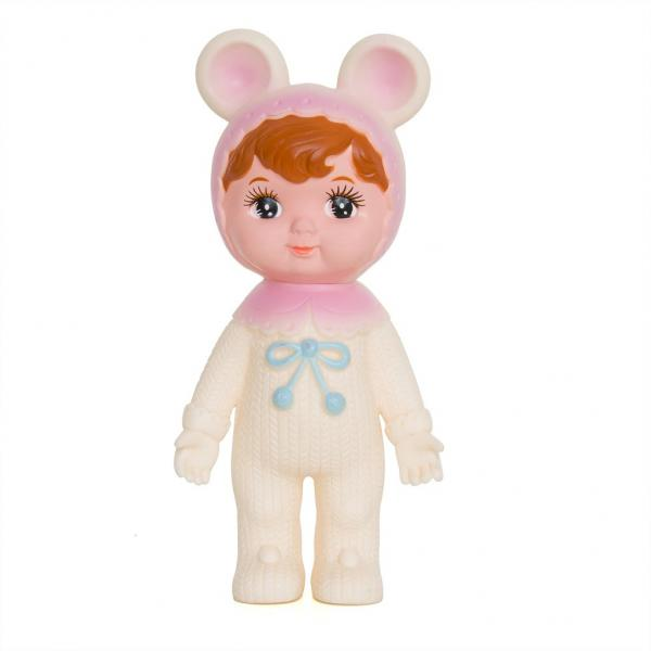 Lapin & Me Woodland Doll White/Pink ears New