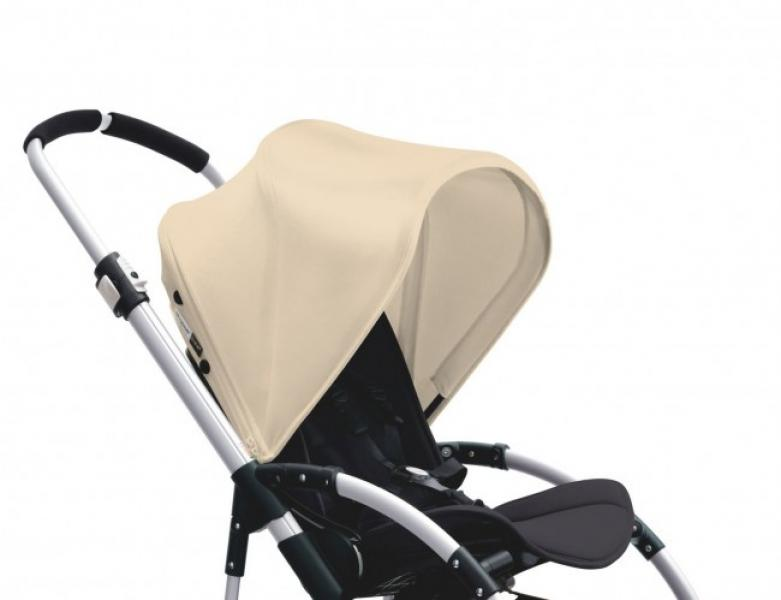 Bugaboo Bee3 sun canopy, off white