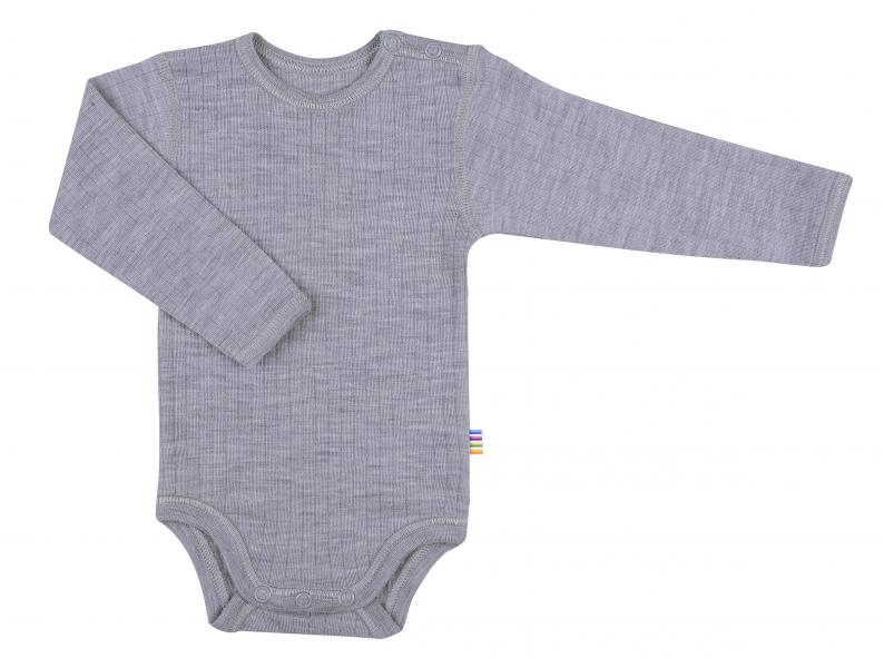 Joha Body L.S. Basic Wool Lt. Greymel